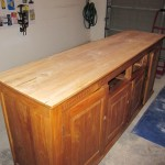 Buffet Top - Stripped