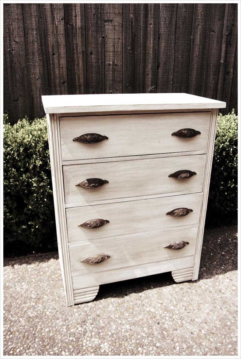 Farmhouse White Dresser Lindauer Designs