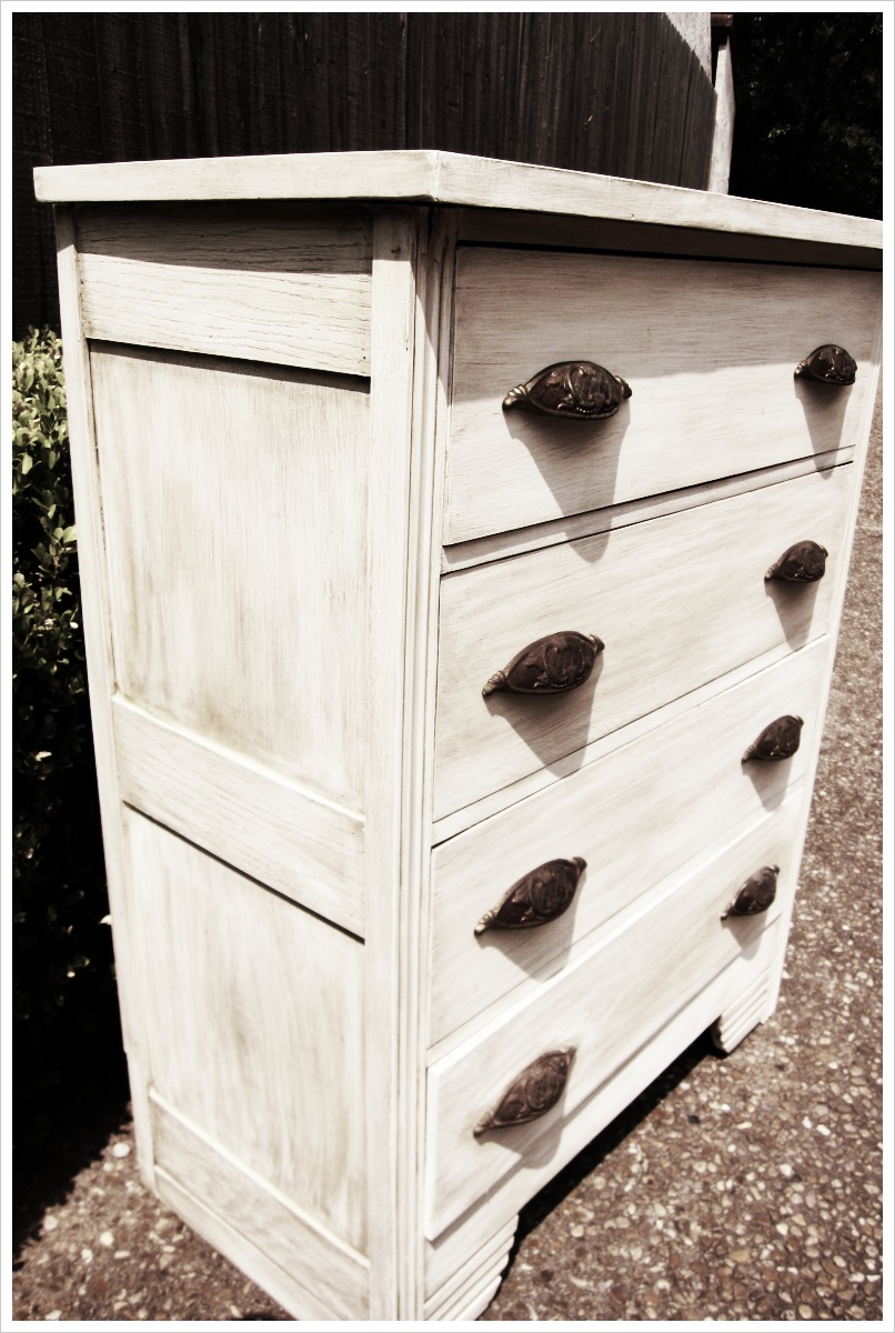 Farmhouse White Dresser Lindauer Designs