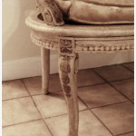 Antique French Settee - Close Up