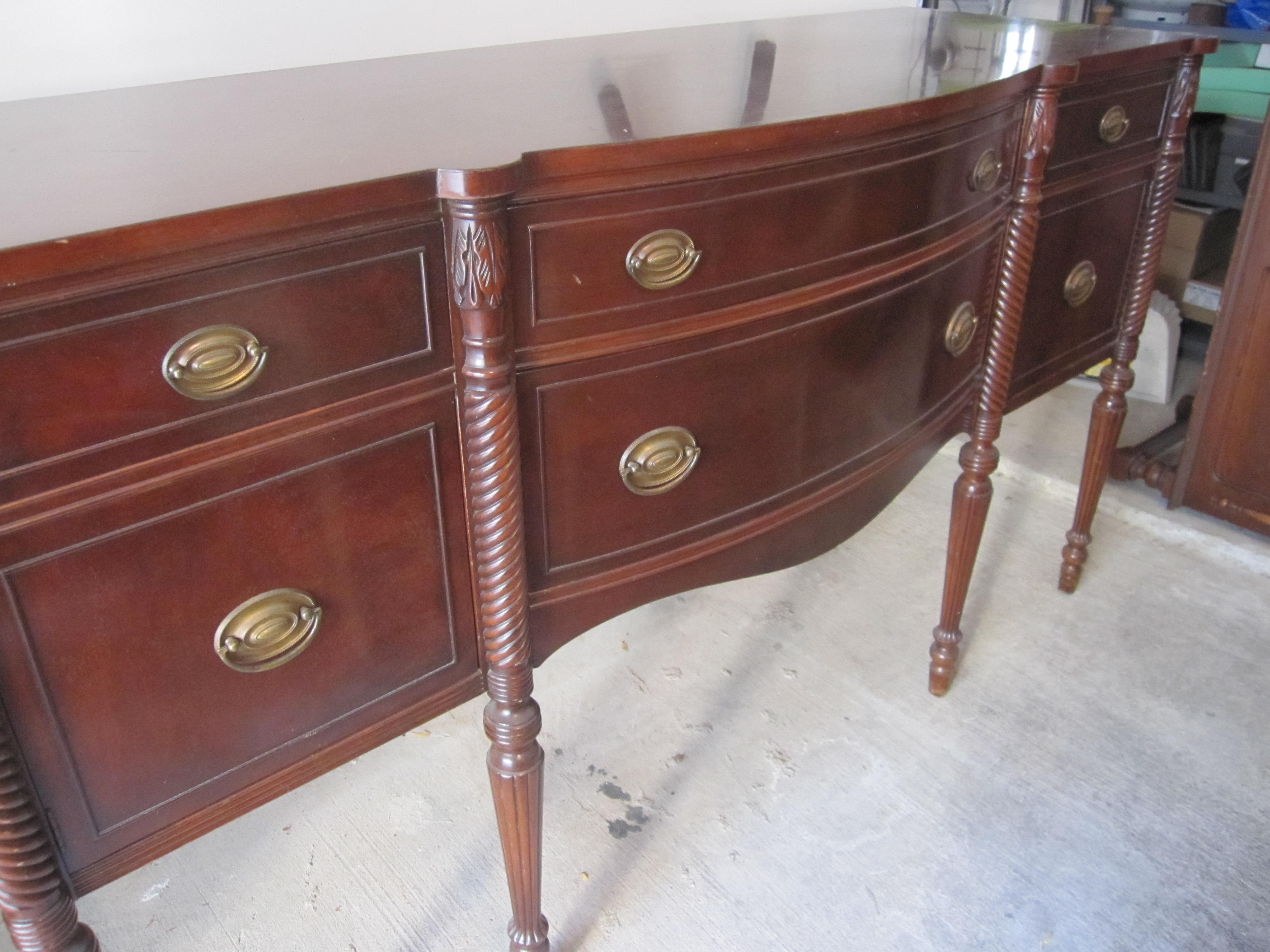 How To Refinish Wood Buffet Almirah Beds