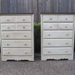 Completed Dressers