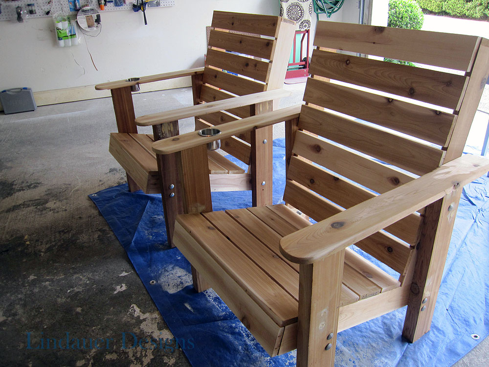 Bakes Useful Wood Lawn Chair Plans Free