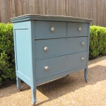 NY Blue Chest of Drawers