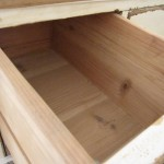 Cedar Chest - Inside Drawer