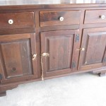 Ethan Allen Buffet - Before