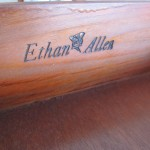 Ethan Allen Tag Inside Drawer