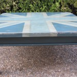 Blue Union Jack Coffee Table